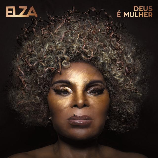 """Capa do álbum """"Deus É Mulher"""" da Elza Soares"""