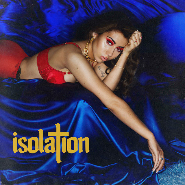"Capa do álbum ""Isolation"" da Kali Uchis"