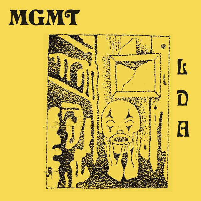 "Imagem da capa do álbum ""Little Dark Age"" do MGMT"