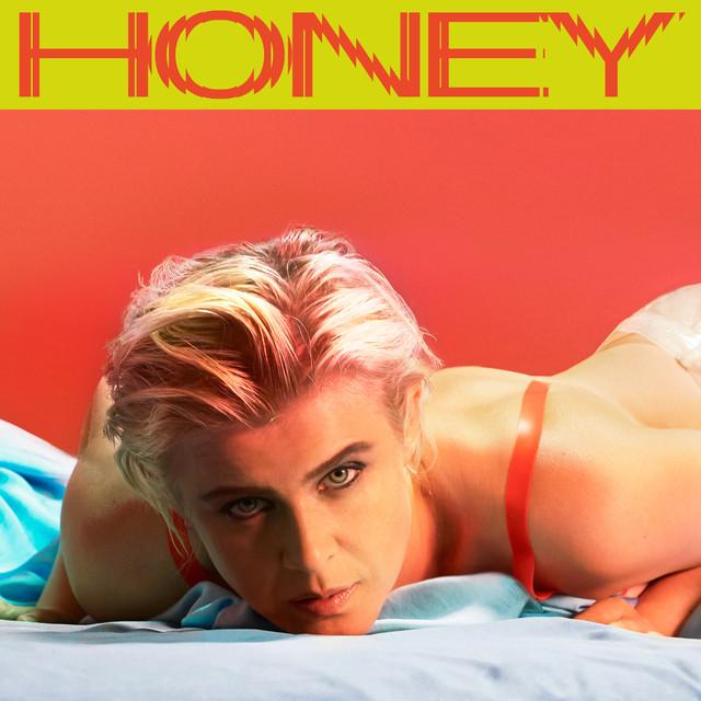 "Imagem da capa do álbum ""Honey"" da Robyn"