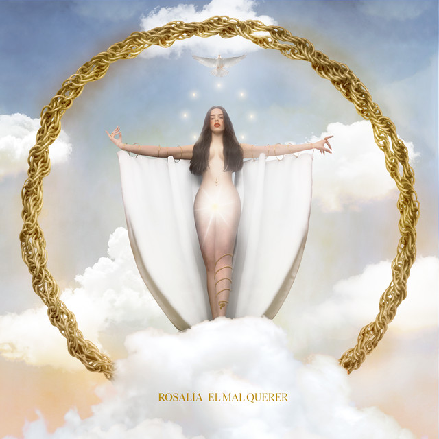 "Imagem da capa do álbum ""El Mal Querer"" da ROSALÍA"