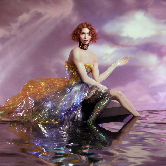 "Imagem da capa do álbum ""OIL OF EVERY PEARL'S UN-INSIDES"" da SOPHIE"